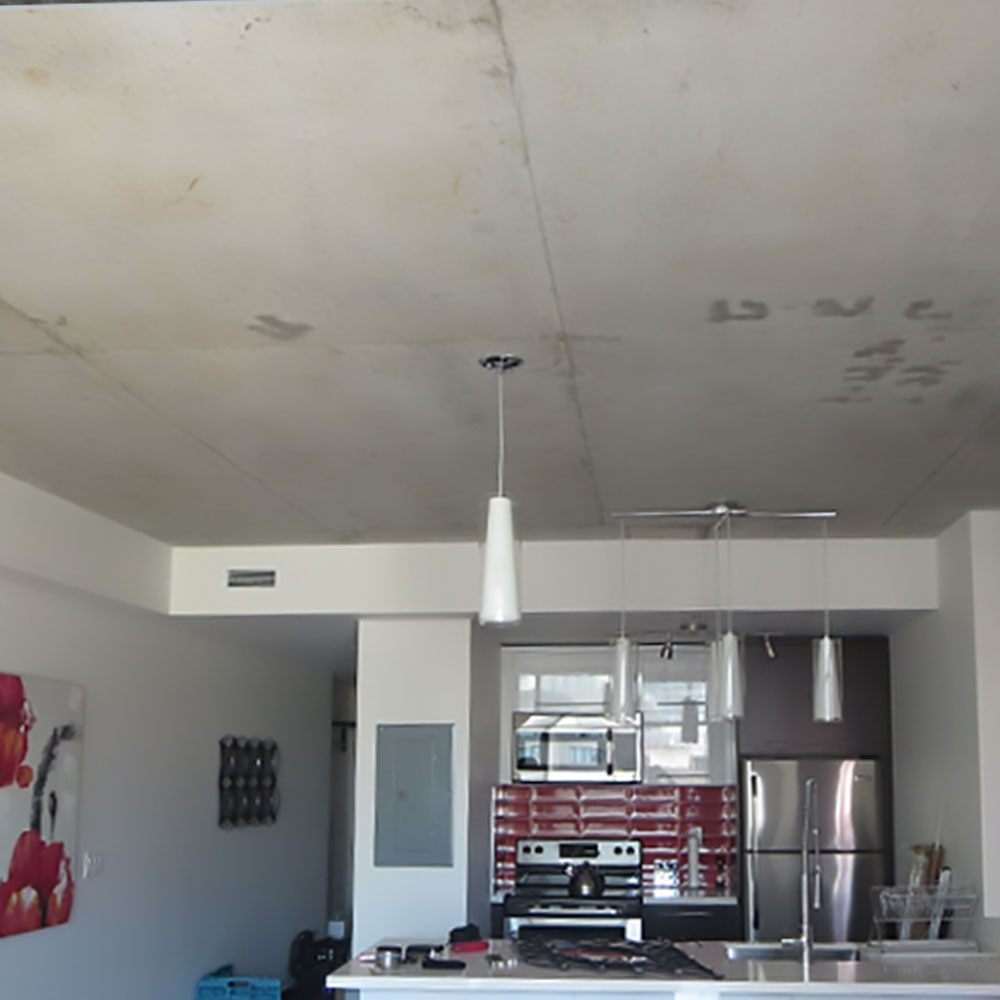 Stretch ceilings before