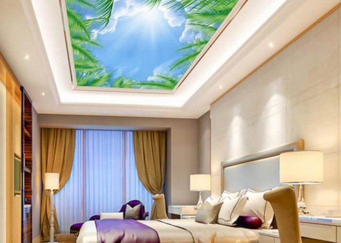 Combined stretch ceilings Favorite Design