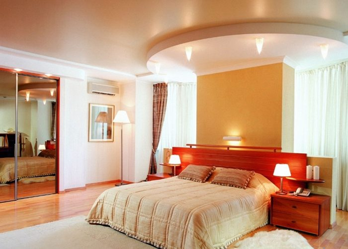 Satin stretch ceilings Favorite Design