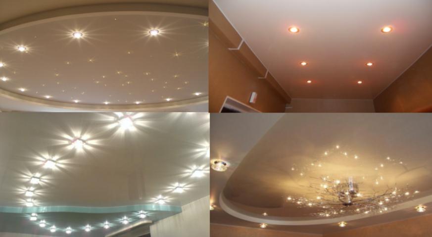 Spotlights installation Favorite Design