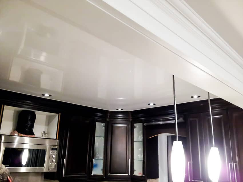 Kitchen stretch ceilings Favorite design
