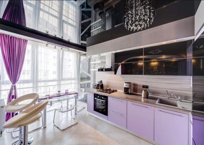 Cuisine. Plafond Tendu.Favorite design