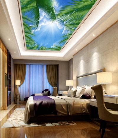 Bedroom.Stretch Ceiling.Favorite Design.