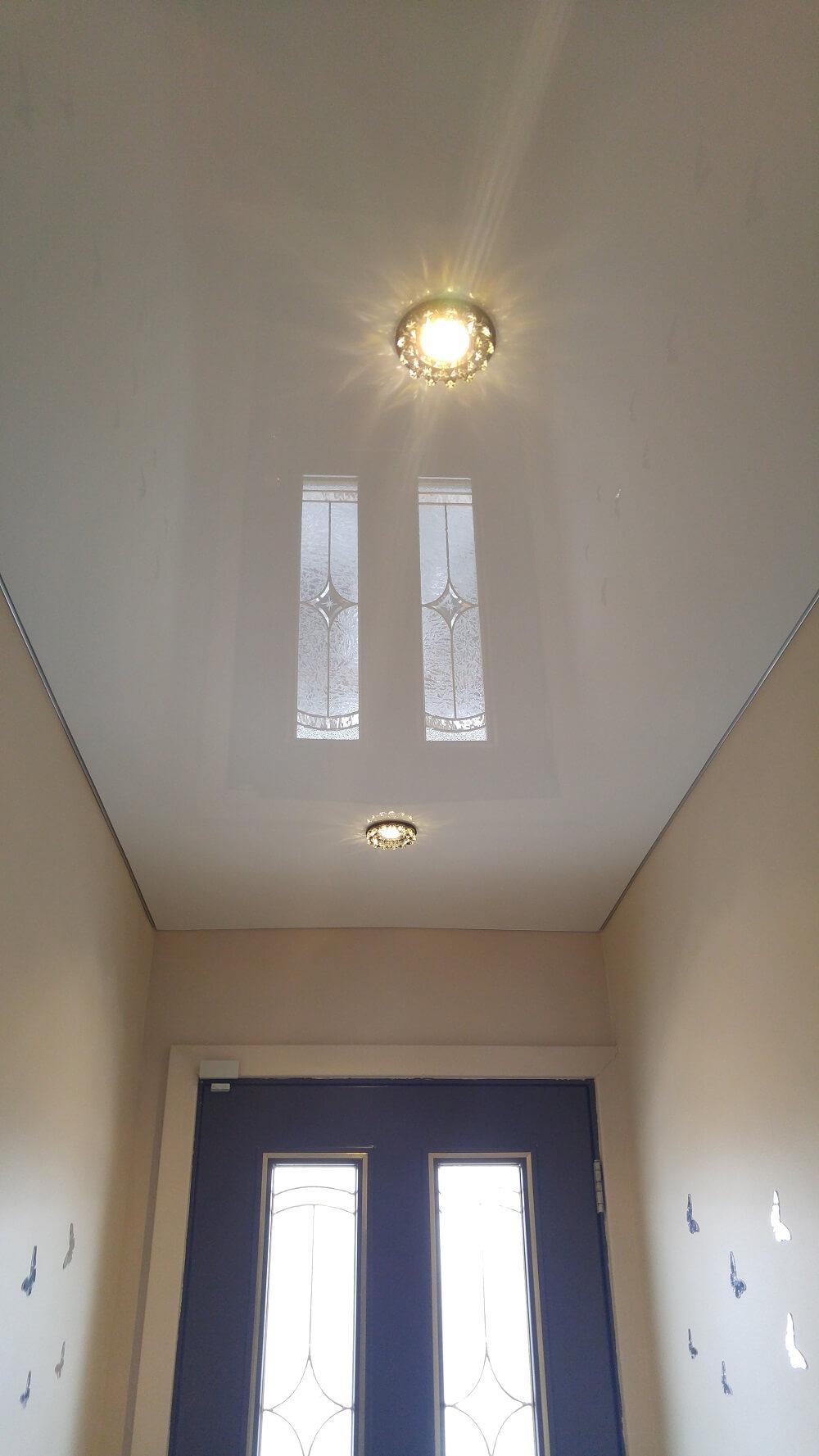 Hallway Stretch Ceiling Favorite Design