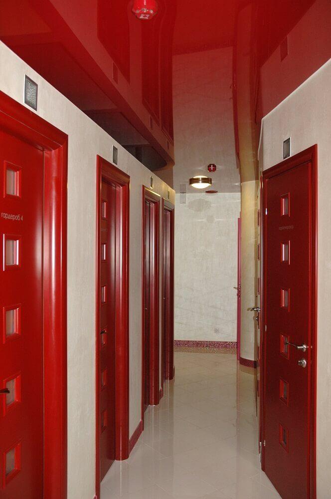 hallway Stretch ceiling