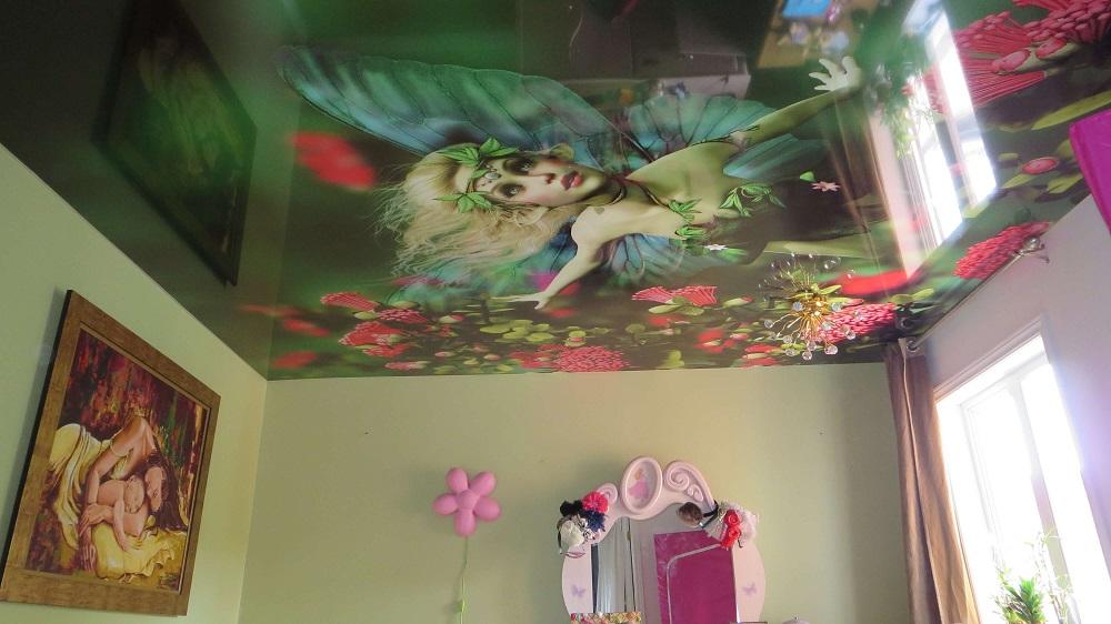 Bedroom Stretch Ceiling Favorite design.